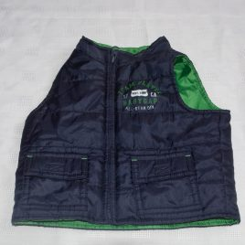 Gap navy body warmer gilet 0-3 months