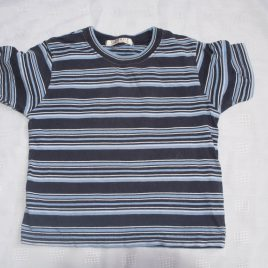 Blue stripy t-shirt 2-3 years