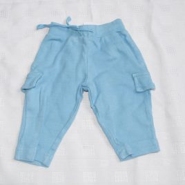 Blue trousers 0-3 months