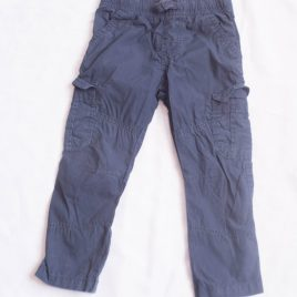 Navy cargo trousers 2-3 years