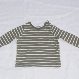 Stripy top 6-9 months