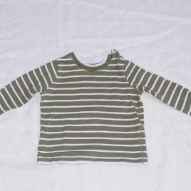 Stripy top 6-9 months