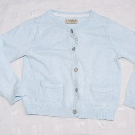Next blue cardigan 2-3 years