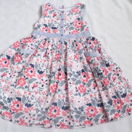 John Lewis flowers dress 5 years