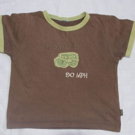 Brown truck t-shirt 2-3 years