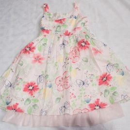 Next pink flowers dress 5 years