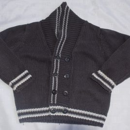 Grey cardigan 2-3 years