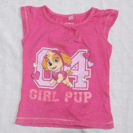 Pink Paw Patrol t-shirt 18-24 months