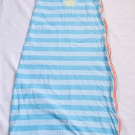 Mothercare blue stripy sleeping bag 1 tog 18-36 months