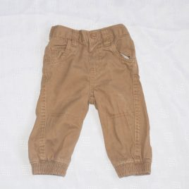 Brown trousers 6-9 months