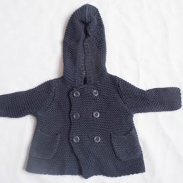 GAP navy cardigan 0-3 months