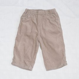 Next brown cord trousers 6-9 months