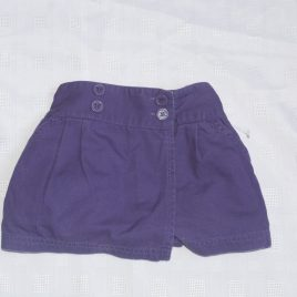 Purple Jojo Maman Bebe shorts/skirt 2-3 years
