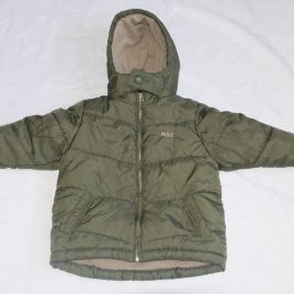 Next khaki green coat 2-3 years