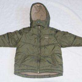 Next khaki green coat 2-3 years