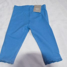 New Next blue leggings 6-9 months