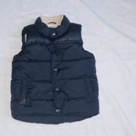 Next navy blue bodysuit gilet 2-3 years