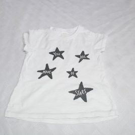 Next 'you are made of stars' t-shirt 12-18 months