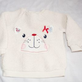 Cat fluffy jumper 12-18 months