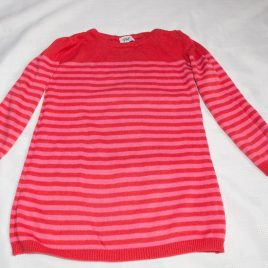 Red & pink knitted dress 12-18 months