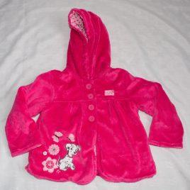 Pink 101 Disney Dalmatians coat 12-18 months