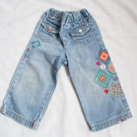 Butterfly by Matthew Williamson jeans 12-18 months