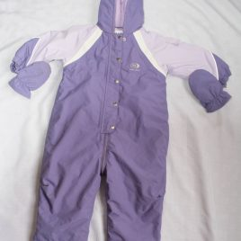Next purple snowsuit pramsuit 12-18 months