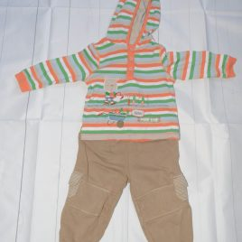 Hoodie top & trousers outfit 12-18 months
