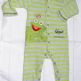 Kermit the frog sleepsuit 12-18 months