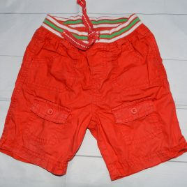 Mothercare red shorts 12-18 months