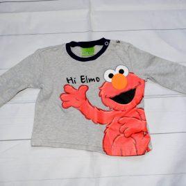 Sesame Street Elmo top 12-18 months