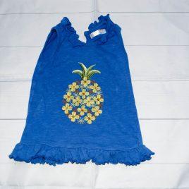 Blue pineapple-shirt 12-18 months