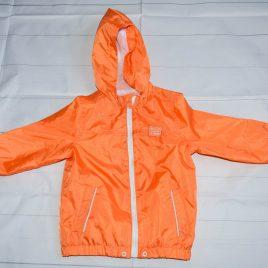 Orange raincoat 18-24 months