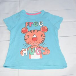Blue 'Free hugs'  t-shirt 18-24 months