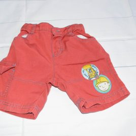 Red Bob TheBuilder shorts 18-24 months