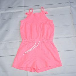 Pink playsuit 12-18 months