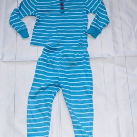 Blue stripy pyjamas 18-24 months