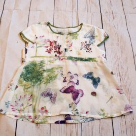 Flowers & butterflies t-shirt 4 Years