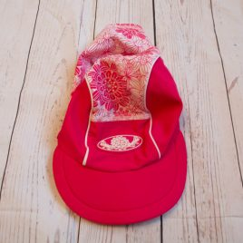 Pink flowers baseball cap 1-3 years