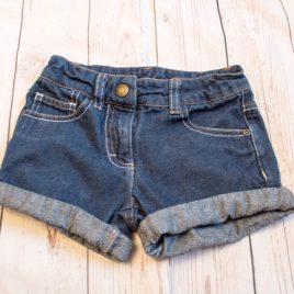 Denim shorts 3-4 years