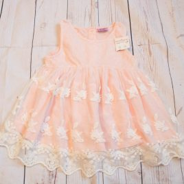 New pink with lace t-shirt 3-4 Years