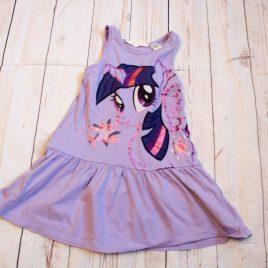 Purple My little pony dress 2-4 years
