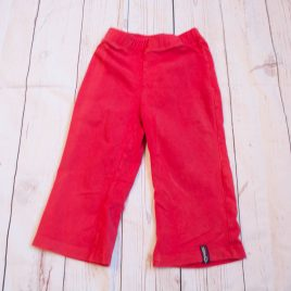 Red leggings 4 years