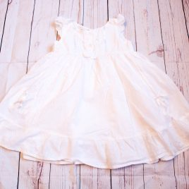 White dress 18-24 months