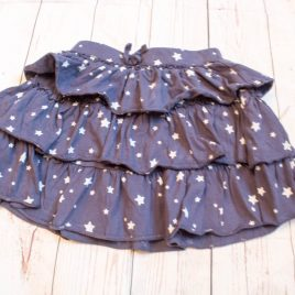 Next navy stars rara skirt 3-4 years