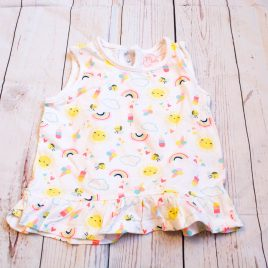 Sun, rainbow & lolly's t-shirt 12-18 months