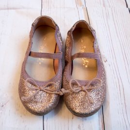 Next pink sparkly shoes size 7