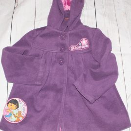 Purple Dora The Explorer coat 4-5 years