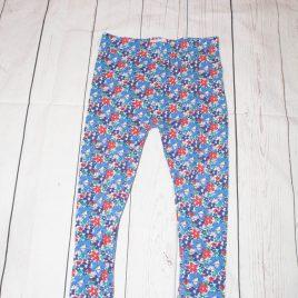 Floral leggings 3-4 years