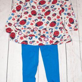 Ladybird tunic & leggings 3-4 years